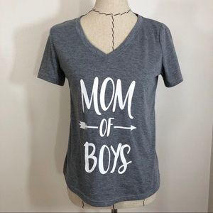 Tops - Boy Mom Graphic Tee